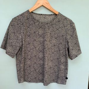 Lululemon Good to Go Cropped Tee Shirt Push Floral